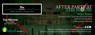 After Party at The House - The Westin